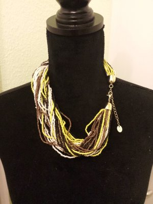 s.Oliver SELECTION Collana di perle multicolore