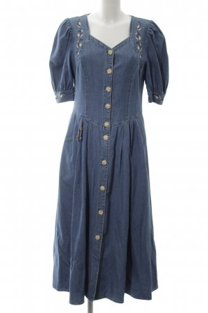 Meico Denim Dress blue casual look