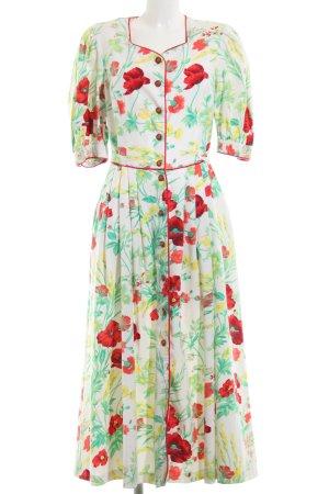 Meico Maxi-jurk volledige print casual uitstraling