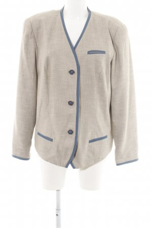 Meico Traditional Jacket natural white-blue casual look