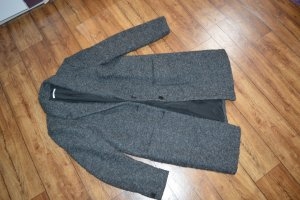 Mein edc Wintermantel Gr. XL/44 in grau Top Wolle
