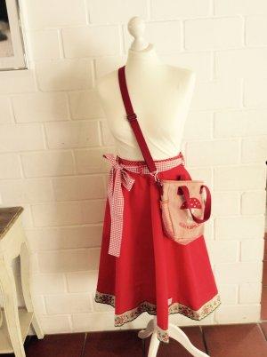 Midi Skirt multicolored cotton