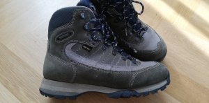 Meindl Snow Boots green grey-light grey leather