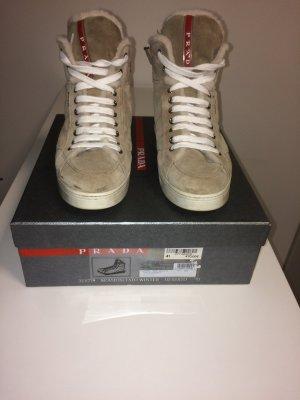 Meine beigen Farbenen Prada Sneaker in Größe 41