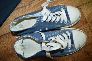 Meine Converse Chucks getragen Gr. 39 Blau