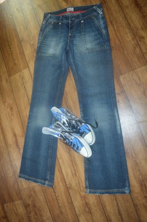 Meine coole Schlaghose Jeans Used Look W28/ L34 TommyHilfiger