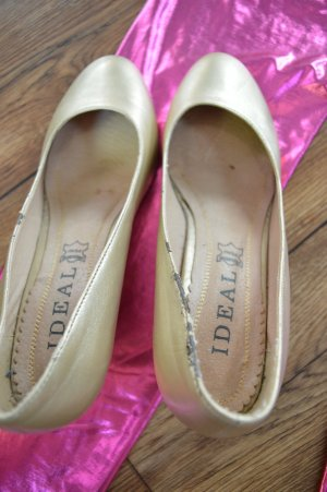 Ideal Tacones Mary Jane color oro