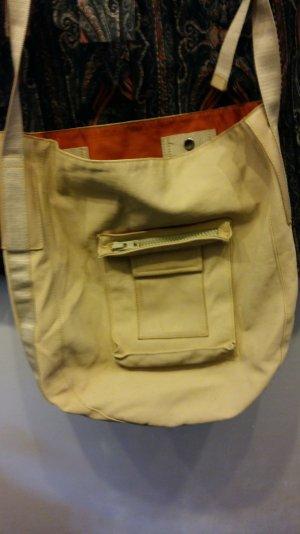 Meine Mandarina Duck Schultasche -beigefarbene Tasche Shopper
