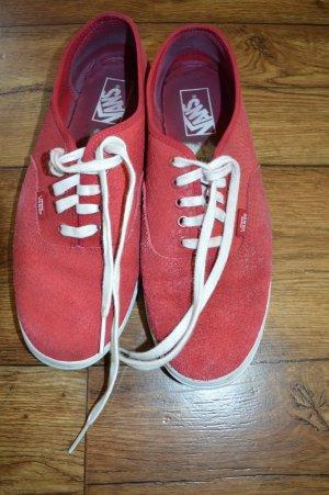 Meine Roten hübschen Vans Gr. 41 abzugeben