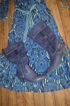 s.Oliver Botas estilo vaquero violeta oscuro-violeta azulado
