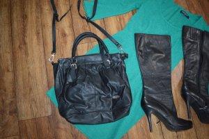 Meine tolle schwarze Bufallo Tasche PU Leder