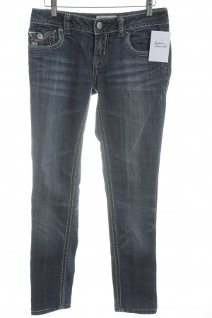 MEK USA DNM Jeans a 7/8 blu-grigio ardesia stile casual