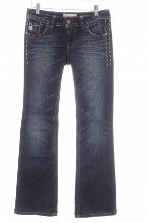 MEK USA DNM Boot Cut Jeans dunkelblau Casual-Look