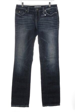 MEK USA DNM Boot Cut Jeans dunkelblau Casual-Look