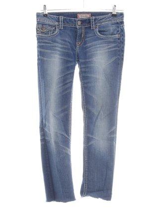 MEK USA DNM Skinny Jeans blau Casual-Look