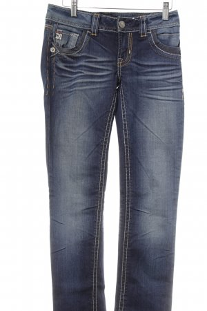 MEK USA DNM Skinny Jeans dunkelblau Casual-Look