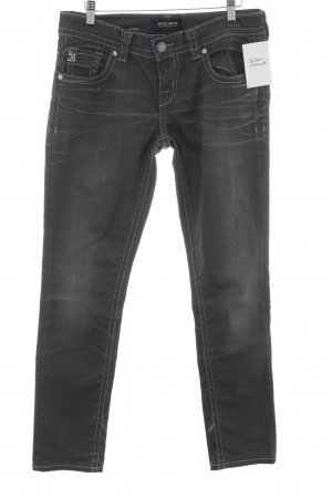 MEK USA DNM Slim Jeans anthrazit Matt-Optik