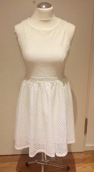 Mela London Cut out jurk wit