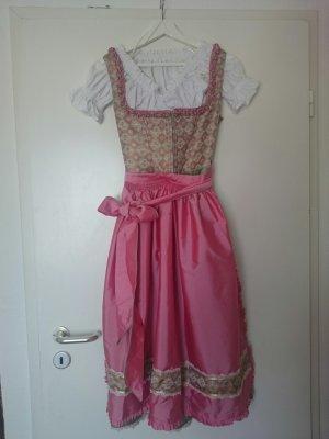 Melega Dirndl hellgrün/rosé Gr. 34