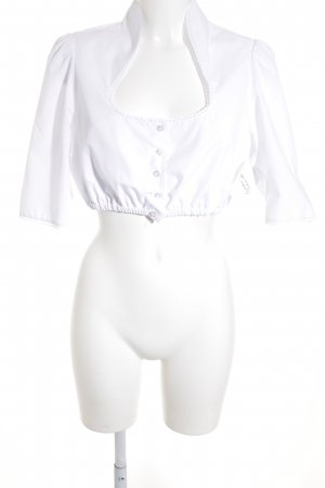 Melega Blouse bavaroise blanc style Boho