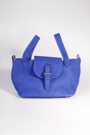Meli Melo Handtasche Mini Thela Royal Blue Nabuk I