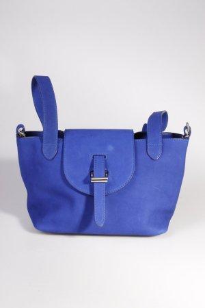 Meli Melo Handtasche Mini Thela Royal Blue Nabuk II