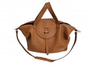 Meli Melo Handbag light brown leather