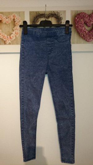 H&M Divided Jeans a vita alta multicolore