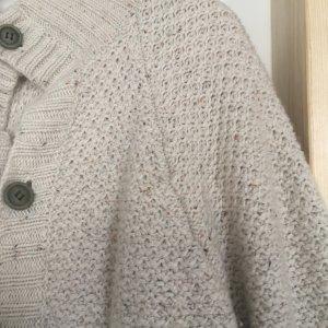 Suit Smanicato lavorato a maglia beige chiaro Tessuto misto