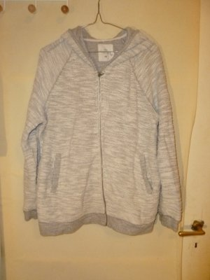H&M Hooded Sweater white-light grey