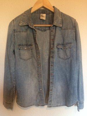 Meliertes Jeanshemd von H&M