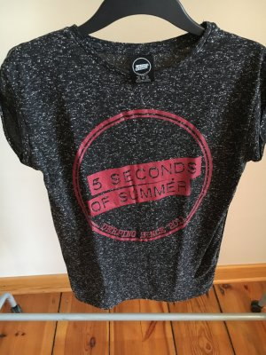 "Meliertes T-Shirt ""5 seconds of summer"""