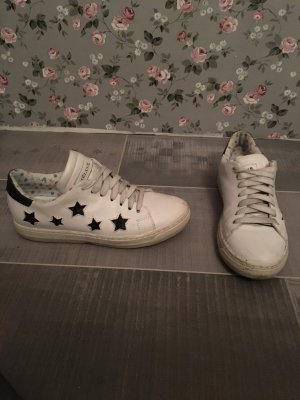 Meline Sneaker weiß schwarz Gr. 37