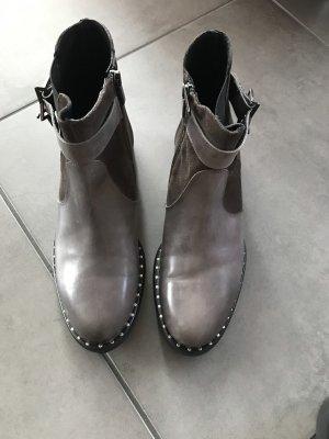 Meline Stiefeletten/Boots Grau Gr.40 neu