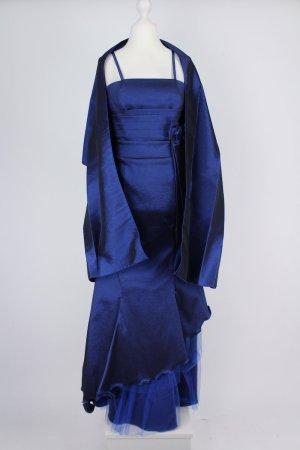Melis Ballkleid mit Schleife blau Größe 40