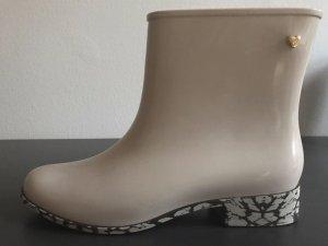 """MELISSA Gummistiefeletten Chelsea Boots elfenbeinfarben """"Gojji"""" Gr. 40"""