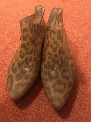 Melissa Gummistiefeletten, Leopardenmuster