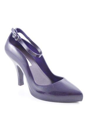 Melissa High Heels dunkelviolett Elegant