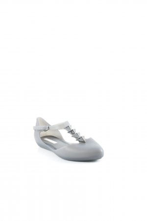 Melissa Mary Jane Ballerinas anthrazit extravaganter Stil