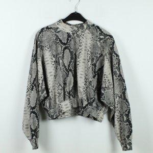 MELISSA MINCA Pullover Gr. S schwarz grau oversized (19/10/186)