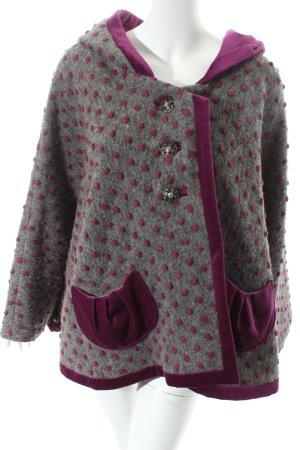 Mellomax Cape grey-violet spot pattern extravagant style