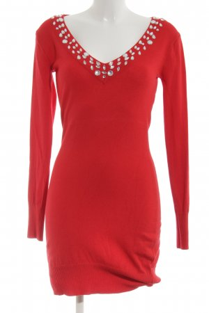 Melrose Jerseykleid rot Party-Look