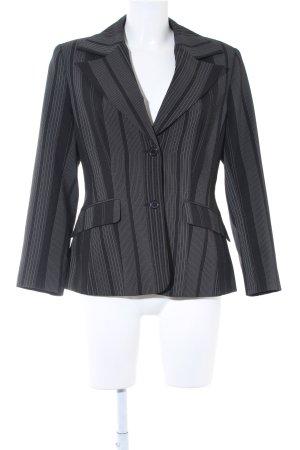Melrose Kurz-Blazer schwarz-weiß Nadelstreifen Business-Look