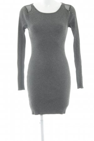 Melrose Langarmkleid grau Casual-Look