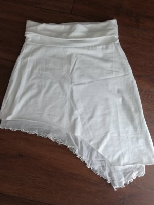 Melrose Broomstick Skirt white