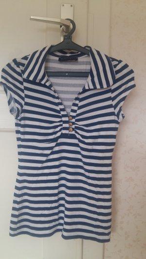 Melrose Polo T-Shirt geringelt/gestreift Gr. 32