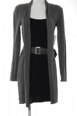 Melrose Sweater Dress black-grey casual look