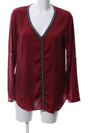 Melrose Slip-over blouse rood elegant