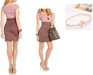 Melrose - Schönes Kleid Gr.36 & Modearmband