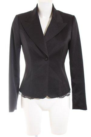 Melrose Blazer de esmoquin negro look casual